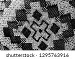 abstract background. monochrome ... | Shutterstock . vector #1295763916