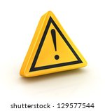 road sign   computer generated... | Shutterstock . vector #129577544