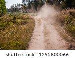 dusty sandy road     Shutterstock . vector #1295800066