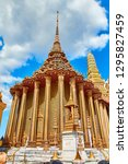 grand palace and wat phra keaw...   Shutterstock . vector #1295827459