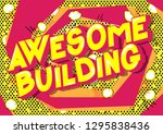 awesome building   vector... | Shutterstock .eps vector #1295838436