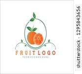 fruit for logo | Shutterstock .eps vector #1295843656