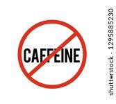 no caffeine  icon vector. no...