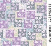 seamless pattern made up of...   Shutterstock .eps vector #1295903956