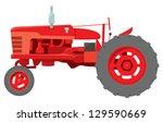 A Classic Generic Farm Tractor...
