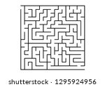 white vector layout with a... | Shutterstock .eps vector #1295924956