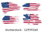 American Flag Background Fully...