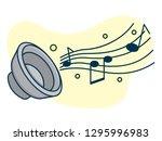 music note design elements ...