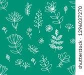 vector hand drawn textures.... | Shutterstock .eps vector #1296037270