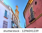 sevilla landmarks  spain   Shutterstock . vector #1296041239