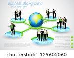 easy to edit vector... | Shutterstock .eps vector #129605060