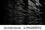 software source code. layers of ... | Shutterstock . vector #1296088903
