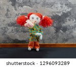 Little Rag Doll Girl With Red...