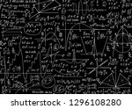 education vector seamless... | Shutterstock .eps vector #1296108280