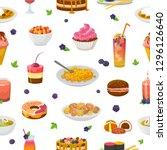 food vector bluish cake or...