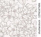 seamless pattern  background... | Shutterstock .eps vector #1296167686