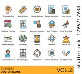 business icons including...   Shutterstock .eps vector #1296217933