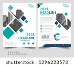 brochure template layout  cover ... | Shutterstock .eps vector #1296223573