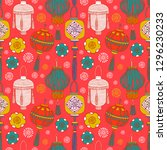 chinese new year  pattern... | Shutterstock .eps vector #1296230233