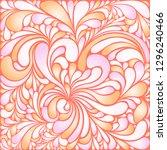 silk texture fluid shapes ... | Shutterstock .eps vector #1296240466