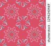 stylish branches elegant... | Shutterstock .eps vector #1296240469