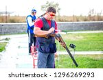 shooting sports. team workouts  ... | Shutterstock . vector #1296269293