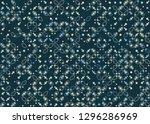 seamless geometric pattern... | Shutterstock .eps vector #1296286969