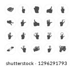 20 shake hands  press button ...   Shutterstock .eps vector #1296291793