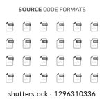 flat style icon set. source...