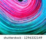 neon brush texture  abstract... | Shutterstock . vector #1296332149