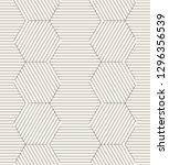vector seamless pattern. modern ... | Shutterstock .eps vector #1296356539