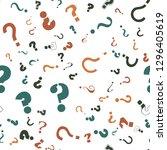 question mark education  school ... | Shutterstock .eps vector #1296405619
