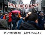 brussels  belgium. 27th january ...   Shutterstock . vector #1296406153