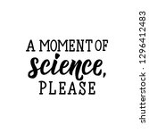 a moment of science  pleace.... | Shutterstock .eps vector #1296412483