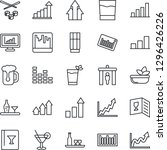 thin line icon set   security...   Shutterstock .eps vector #1296426226