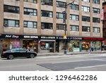 new york city  united states  ... | Shutterstock . vector #1296462286