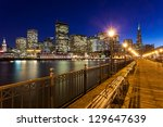 romantic view of san francisco... | Shutterstock . vector #129647639