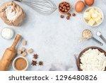baking concept  baking...   Shutterstock . vector #1296480826