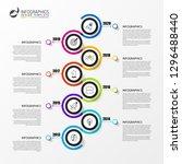 infographic design template....   Shutterstock .eps vector #1296488440
