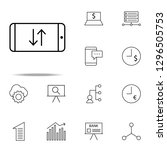phone replacement icon.... | Shutterstock .eps vector #1296505753
