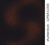 halftone designed abstract... | Shutterstock .eps vector #1296511333