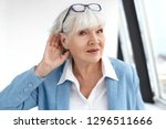 close up elegant stylish... | Shutterstock . vector #1296511666