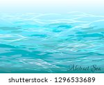 abstract sea. sea background... | Shutterstock .eps vector #1296533689