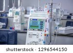 hemodialysis room equipment | Shutterstock . vector #1296544150