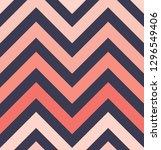 vector zigzag seamless pattern  ... | Shutterstock .eps vector #1296549406