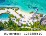 aerial photo of beautiful... | Shutterstock . vector #1296555610