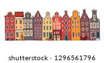Amsterdam Colorful Vector...