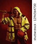 temporary under construction.... | Shutterstock . vector #1296564730