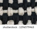intertwined black and white...   Shutterstock . vector #1296579463