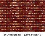 seamless geometric pattern... | Shutterstock .eps vector #1296595543